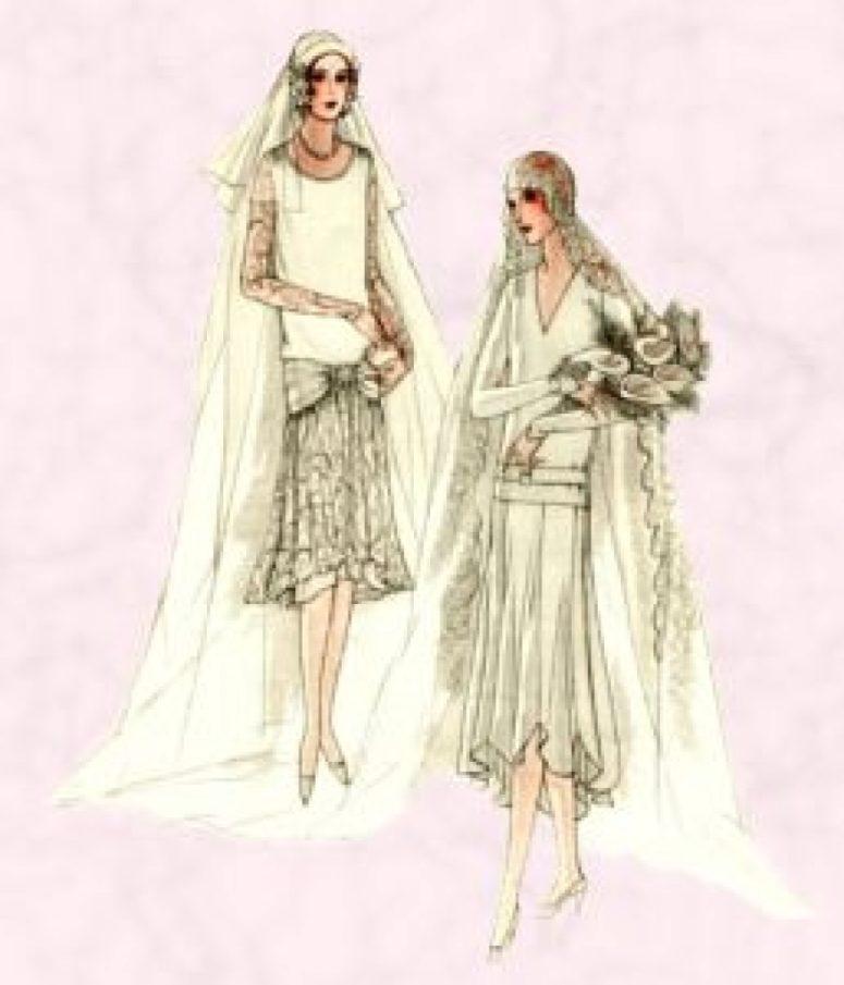 vogue wedding dresses photo - 1