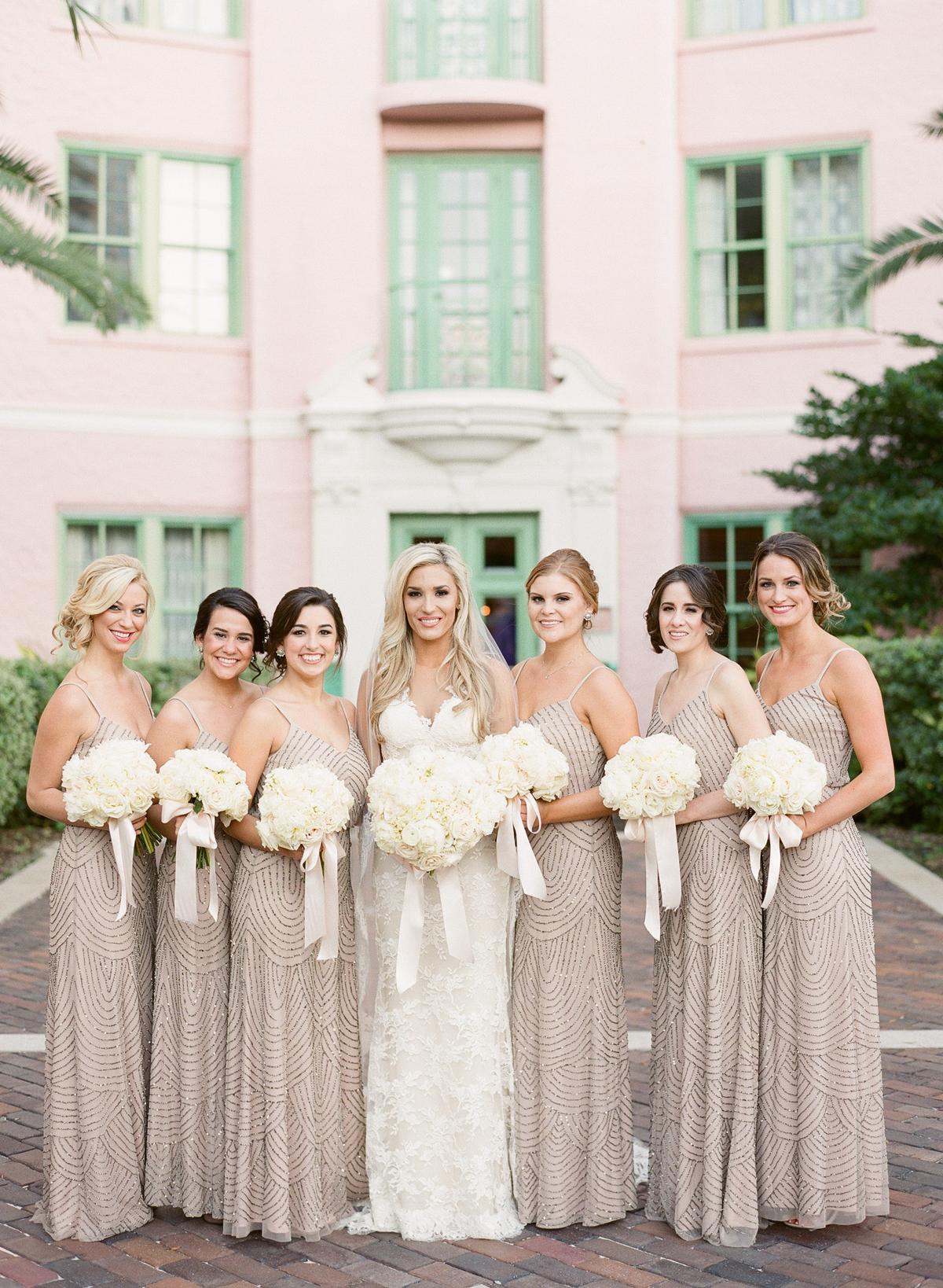 wedding bridesmaids dresses photo - 1