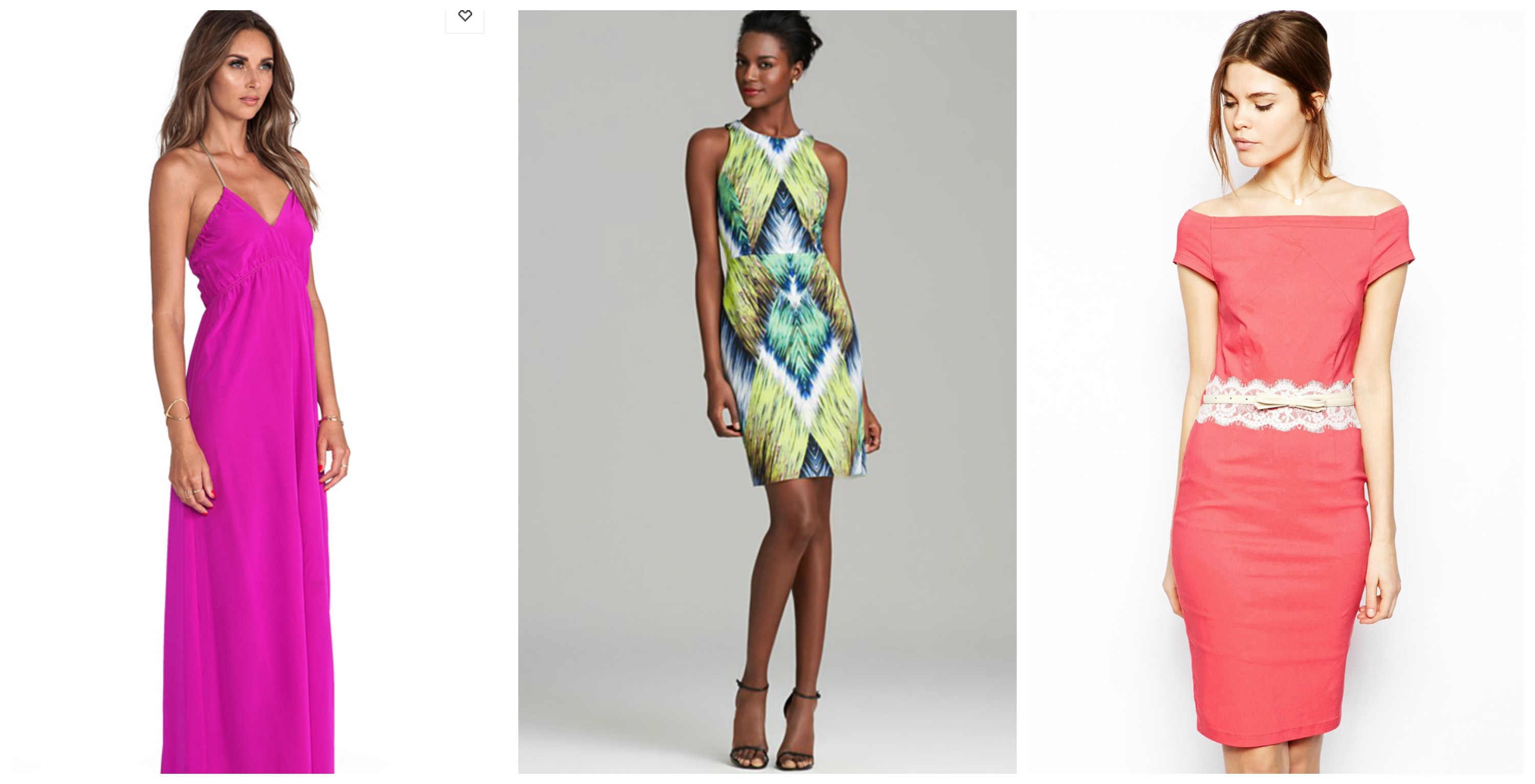 wedding day guest dresses photo - 1