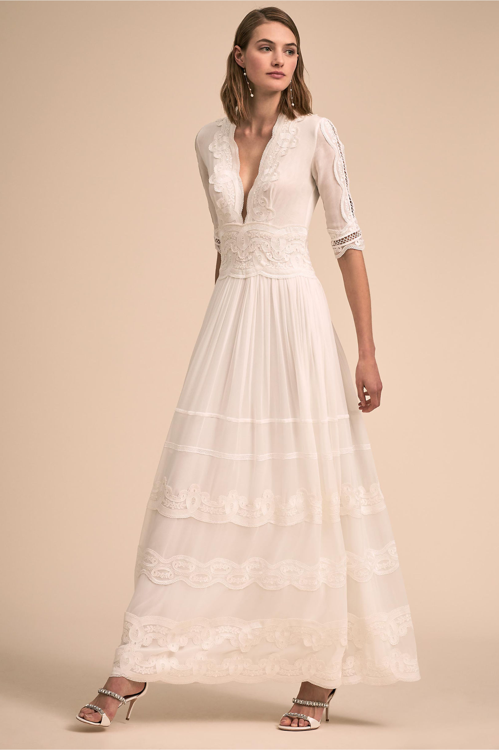 wedding dresses 1940s photo - 1