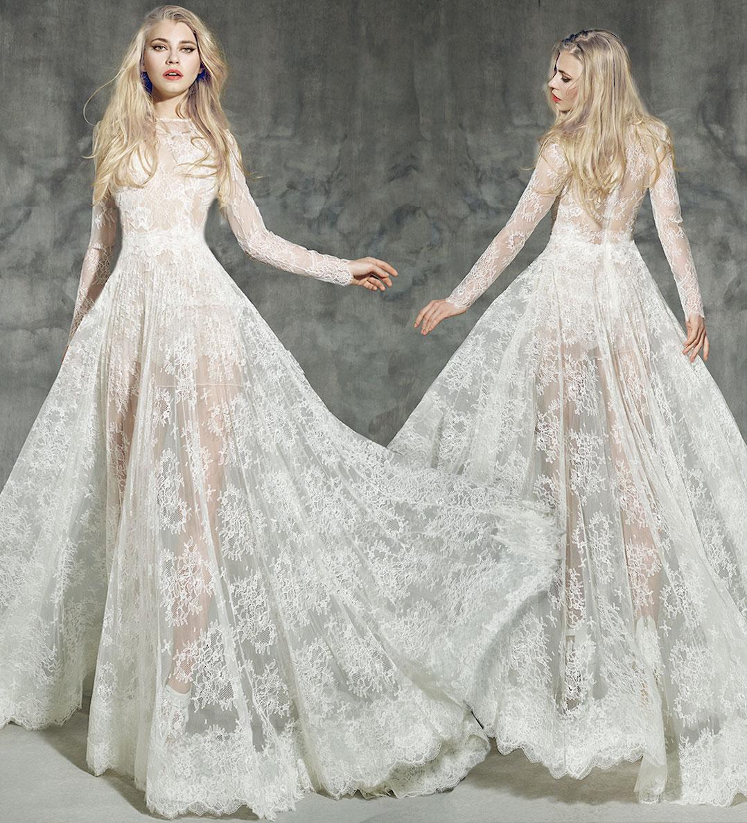 wedding dresses 2016 winter photo - 1