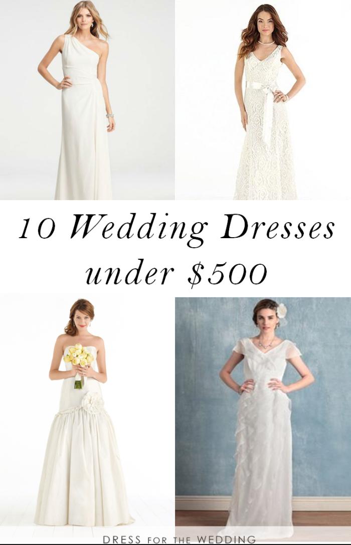 wedding dresses 500 and under photo - 1
