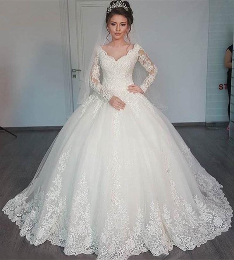 wedding dresses aliexpress photo - 1