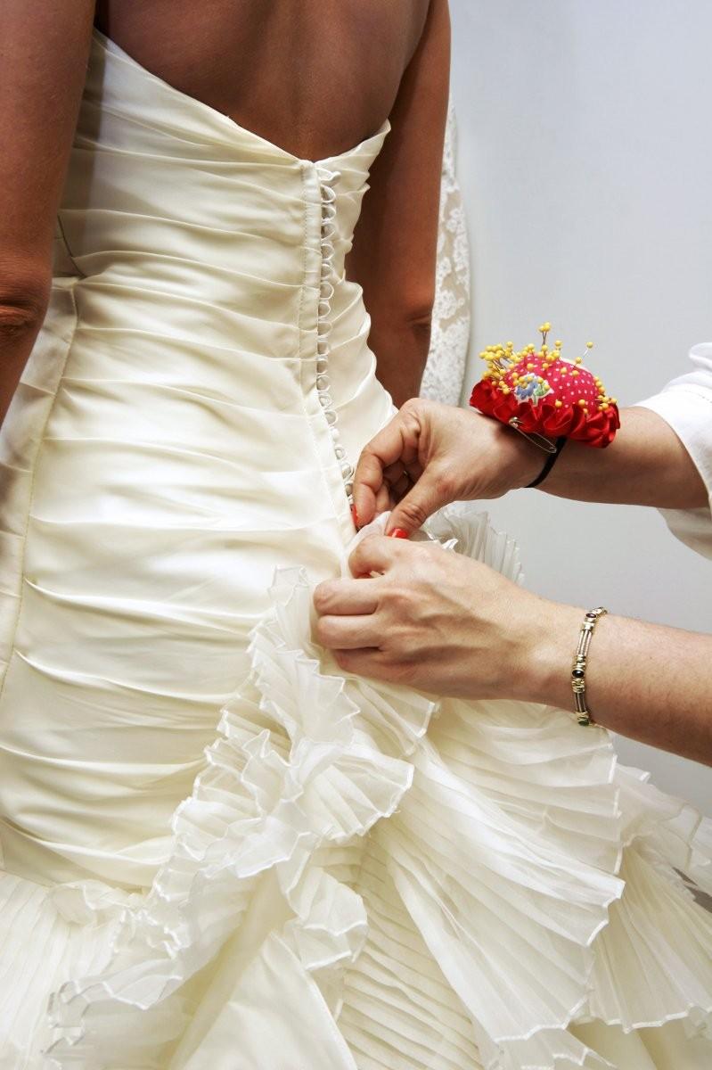 wedding dresses alterations photo - 1