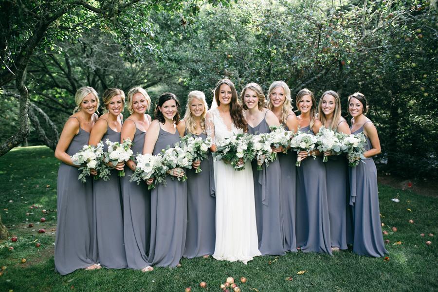 wedding dresses and bridesmaids dresses photo - 1