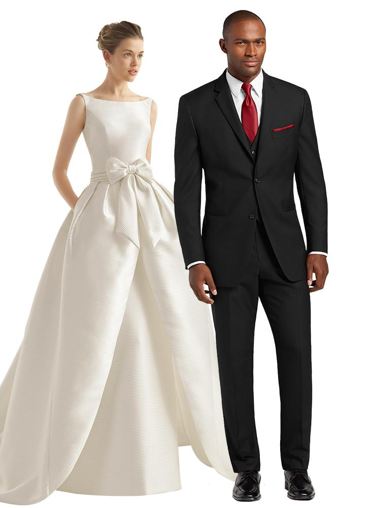 wedding dresses and suits photo - 1