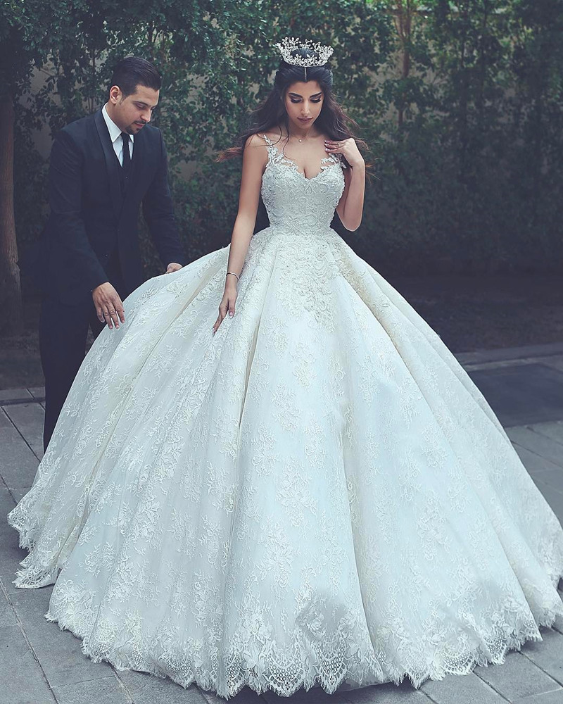 wedding dresses ball gowns photo - 1