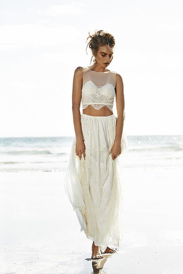 wedding dresses beach casual photo - 1