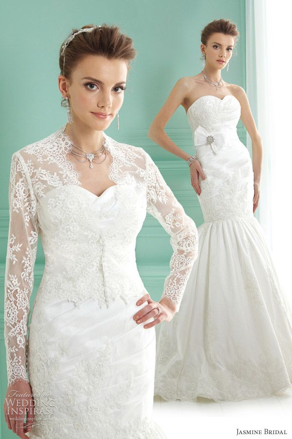 wedding dresses bolero photo - 1