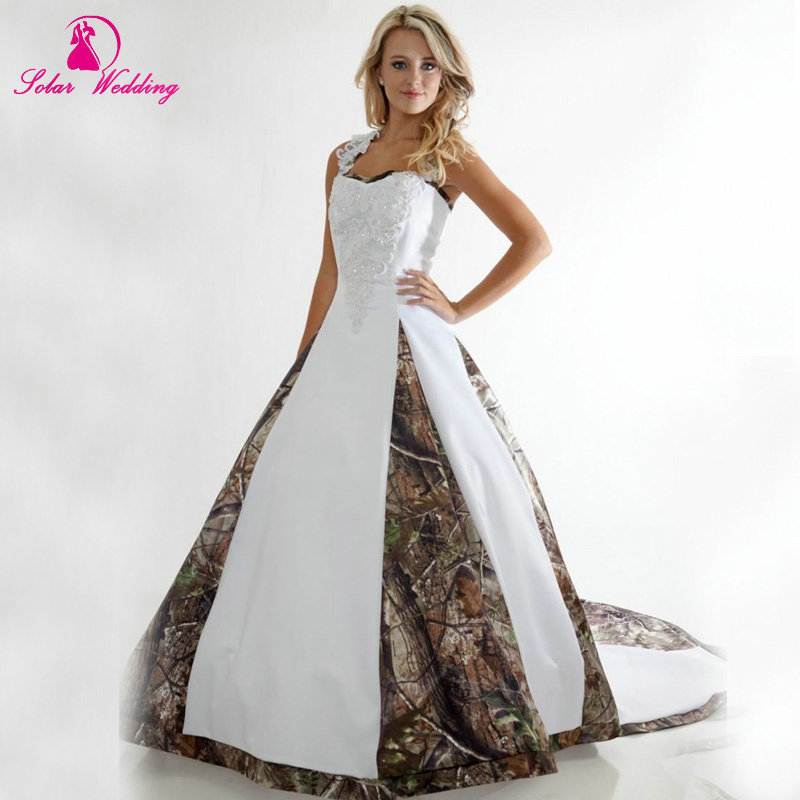 wedding dresses camo photo - 1
