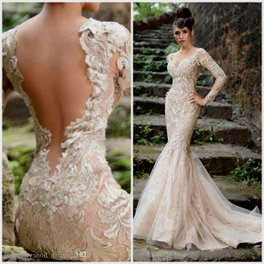 wedding dresses champagne photo - 1