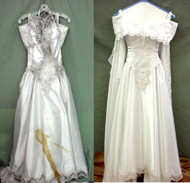 wedding dresses cleaning and preserving photo - 1