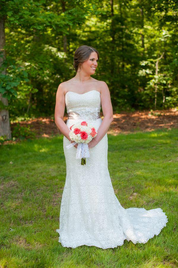 wedding dresses colors photo - 1