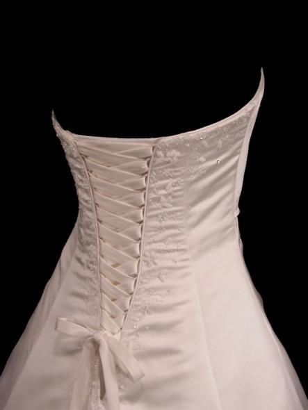 wedding dresses corset back photo - 1