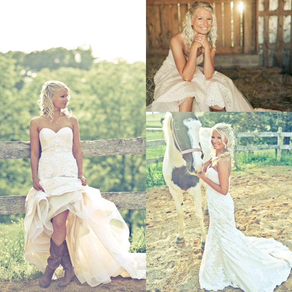 wedding dresses country bride photo - 1