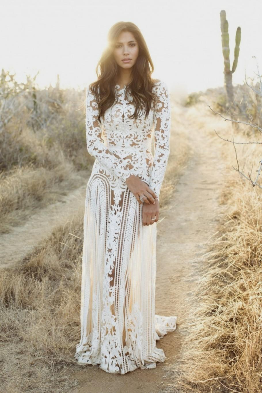 wedding dresses country style photo - 1
