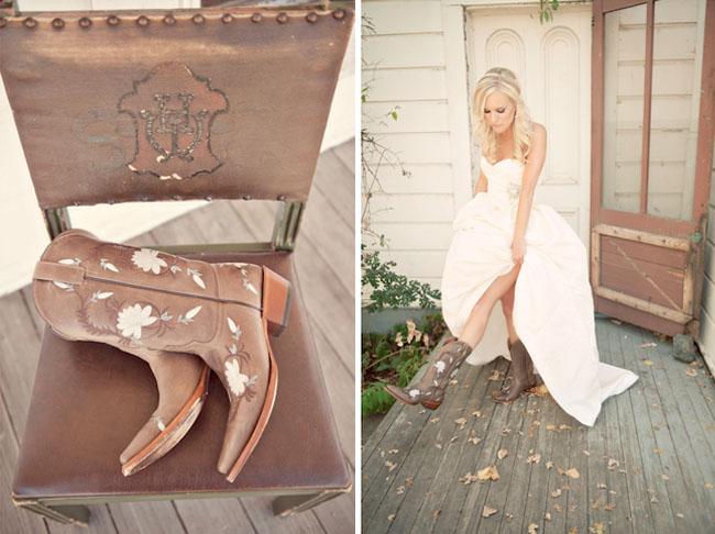 wedding dresses cowgirl style photo - 1