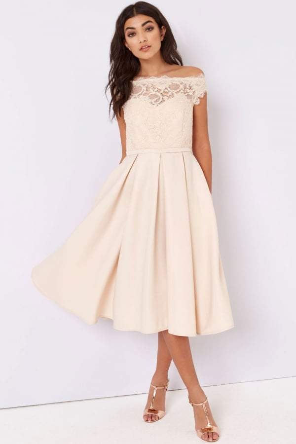 wedding dresses cream photo - 1
