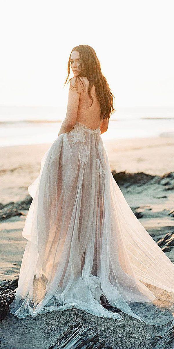 wedding dresses for a beach wedding photo - 1