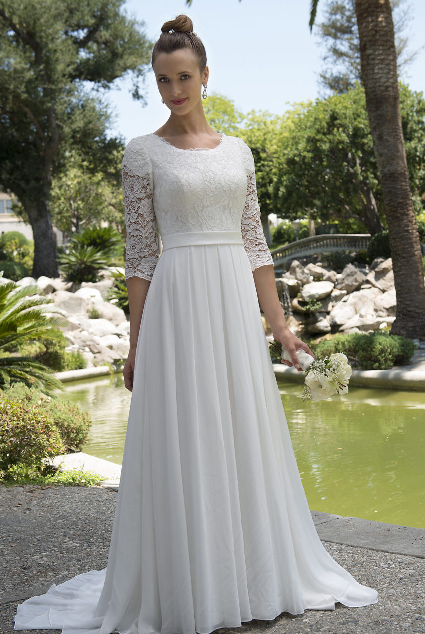 wedding dresses for a second marriage photo - 1