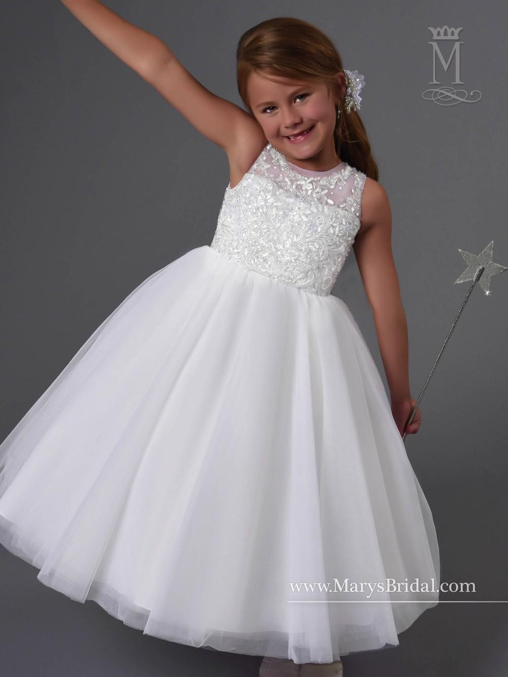 wedding dresses for baby girls photo - 1