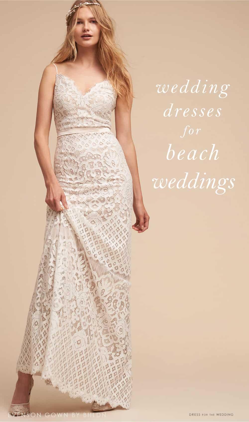 wedding dresses for beach weddings photo - 1