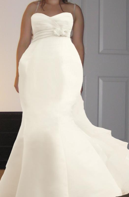 wedding dresses for big hips photo - 1