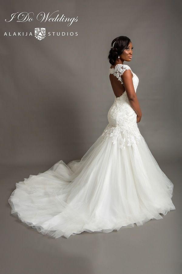 wedding dresses for black ladies photo - 1