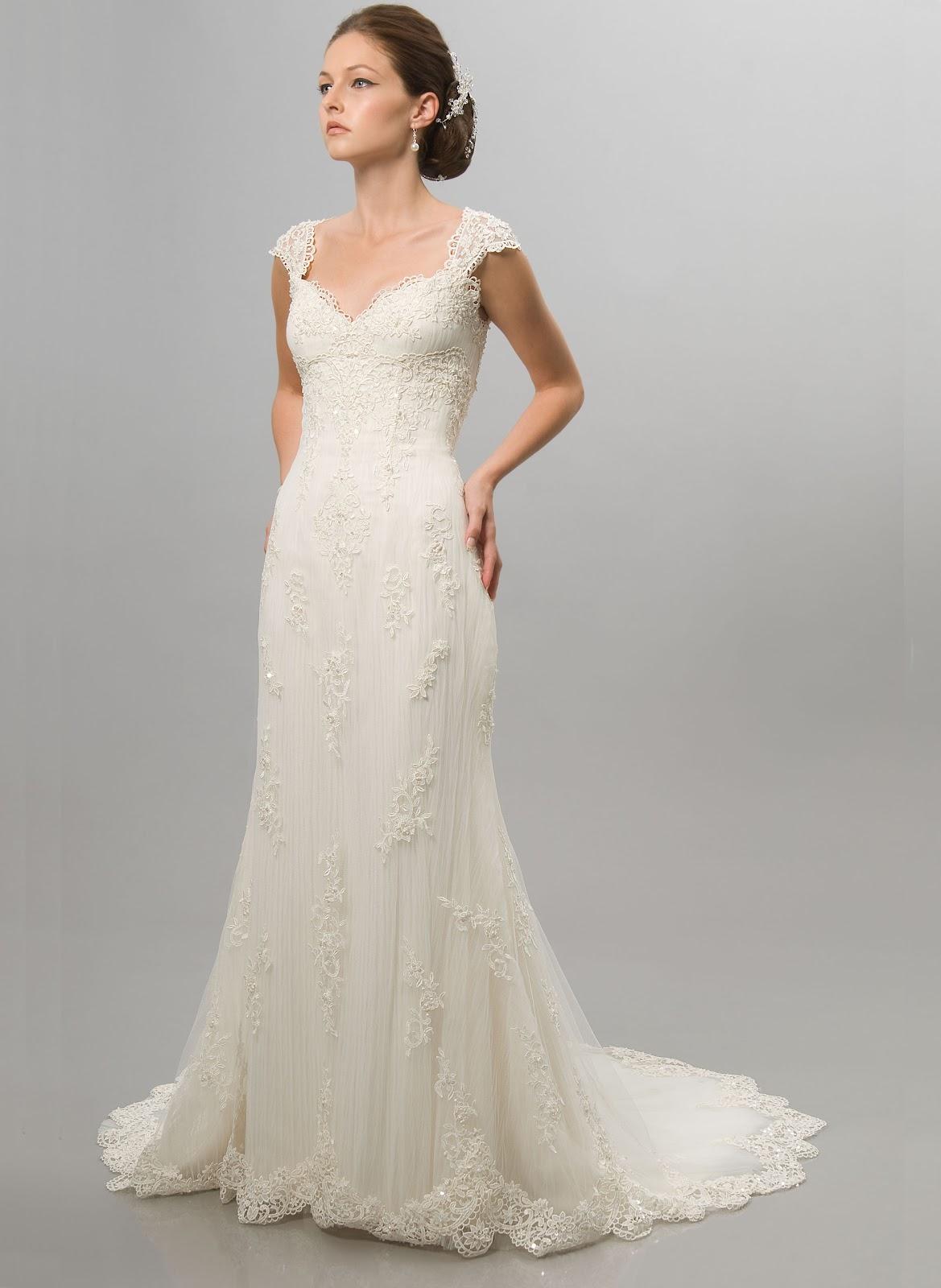 wedding dresses for brides over 60 photo - 1