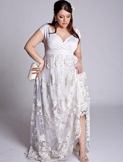 wedding dresses for chubby girls photo - 1