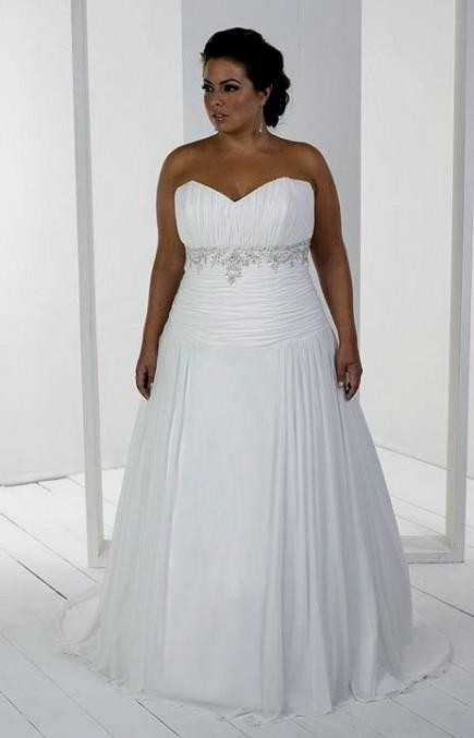 wedding dresses for curvy ladies photo - 1