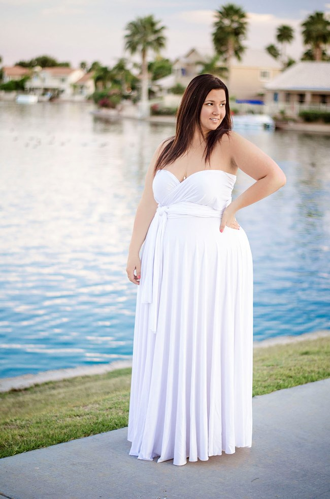 wedding dresses for curvy plus size photo - 1
