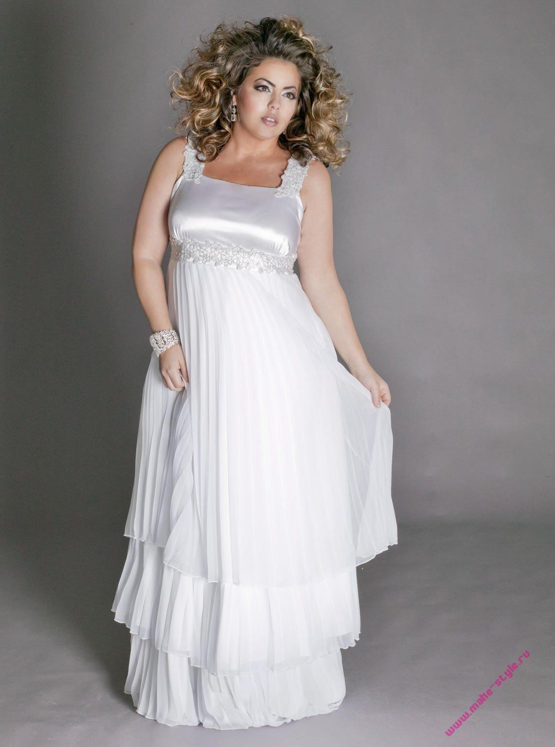 wedding dresses for fat women photo - 1