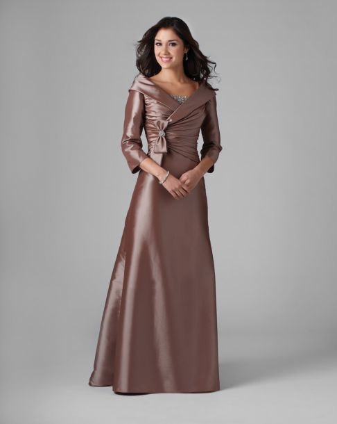 wedding dresses for grandmother of the groom photo - 1