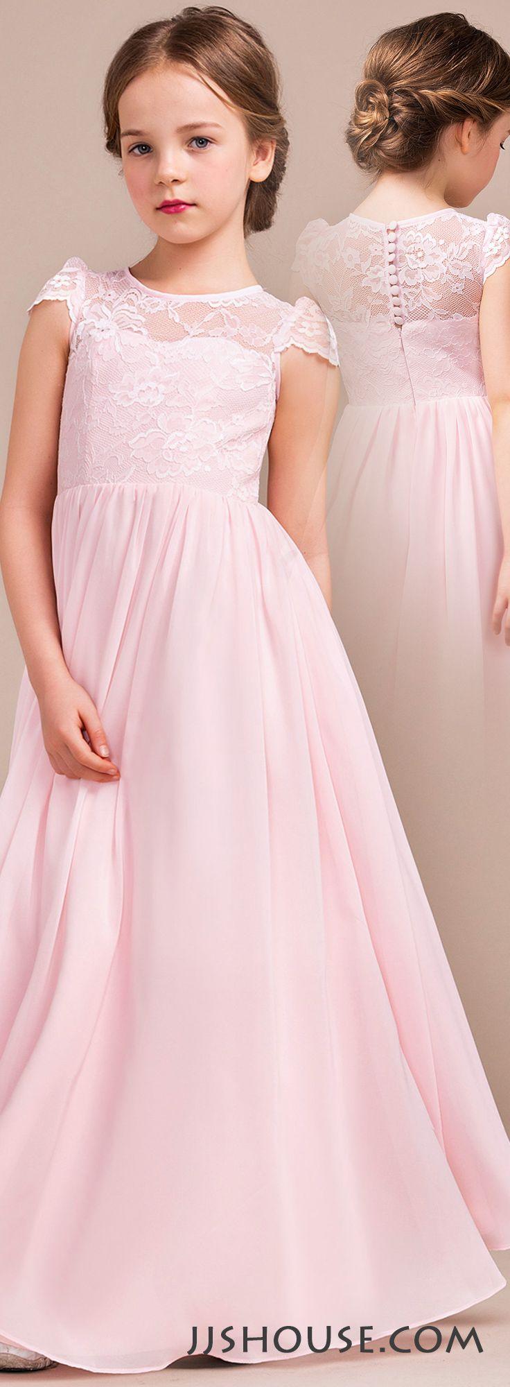 wedding dresses for junior bridesmaid photo - 1