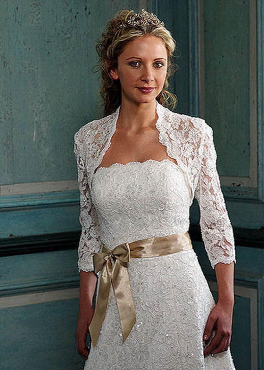 wedding dresses for mature ladies photo - 1