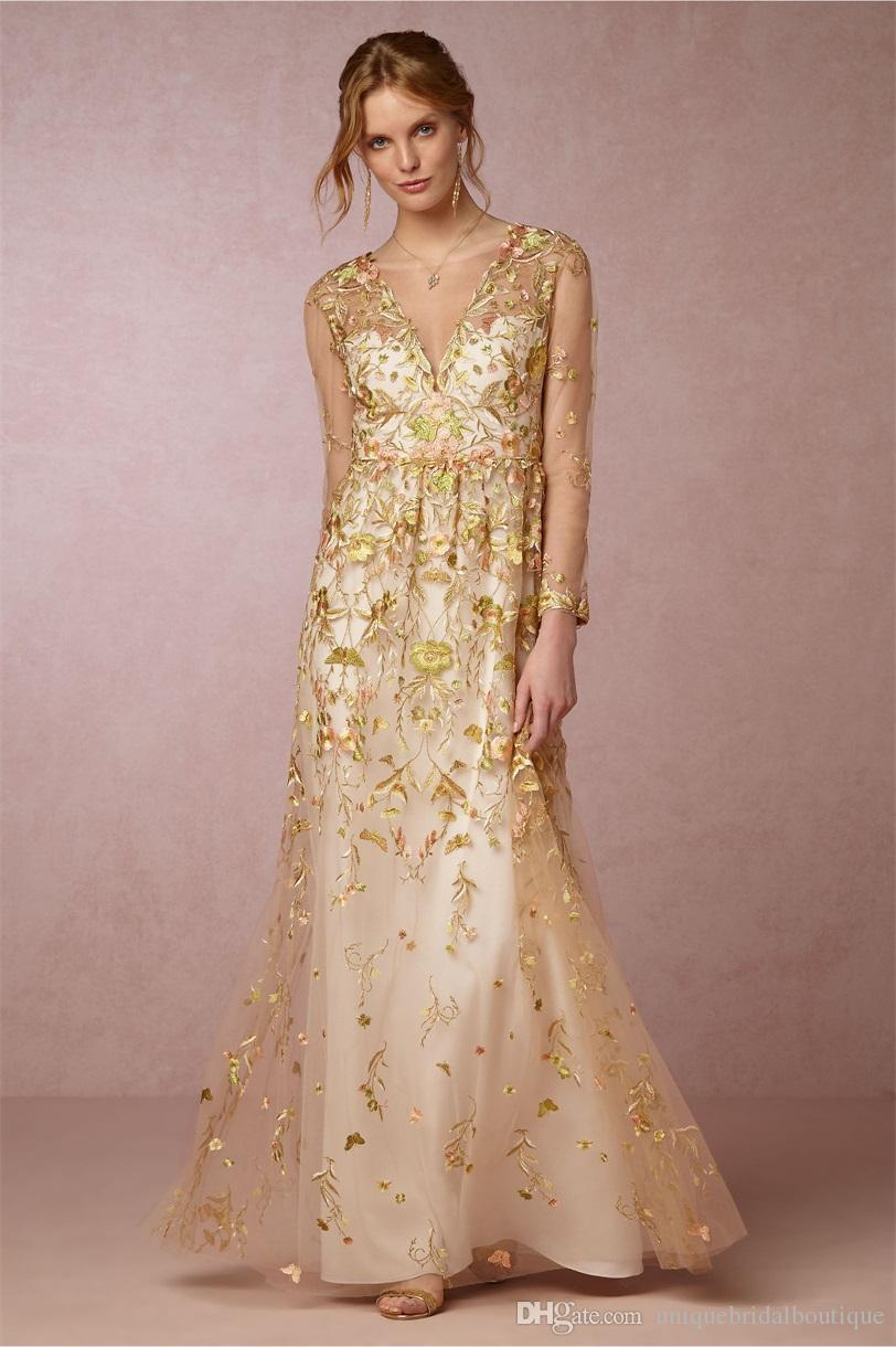wedding dresses for middle aged brides photo - 1