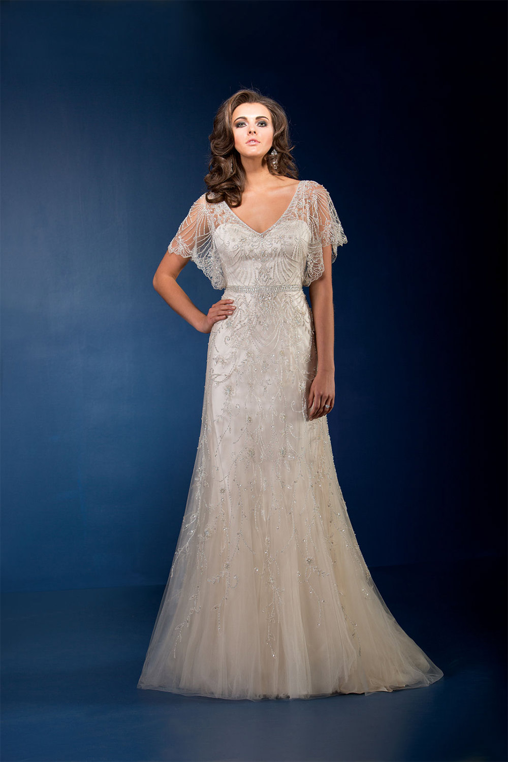 wedding dresses for older brides photo - 1