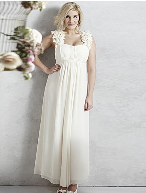 wedding dresses for older brides plus size photo - 1