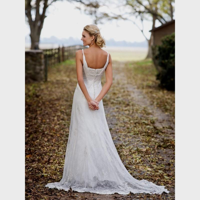 wedding dresses for outdoor weddings photo - 1