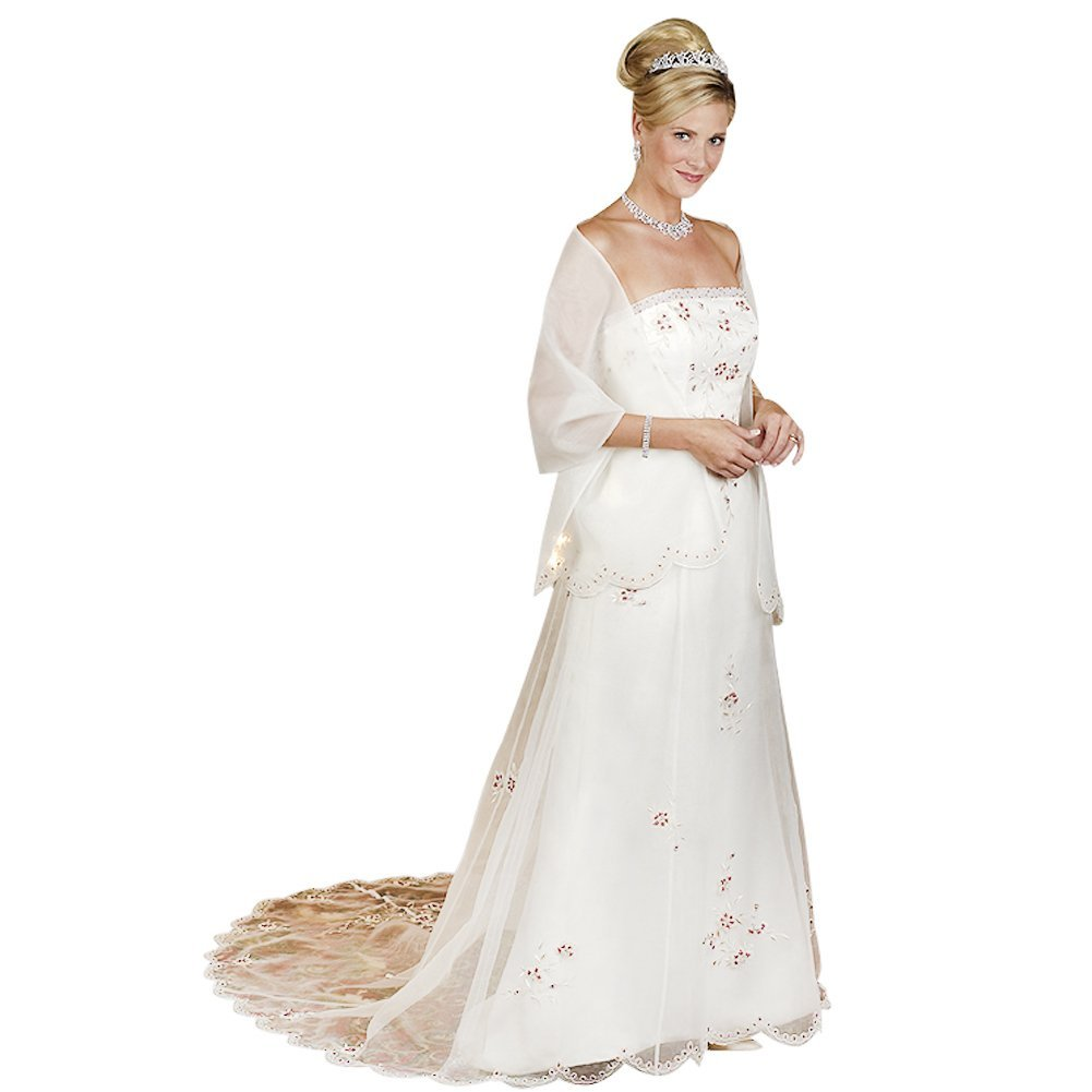 wedding dresses for over 50 year olds photo - 1