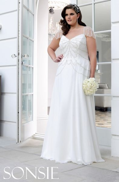 wedding dresses for plus size photo - 1