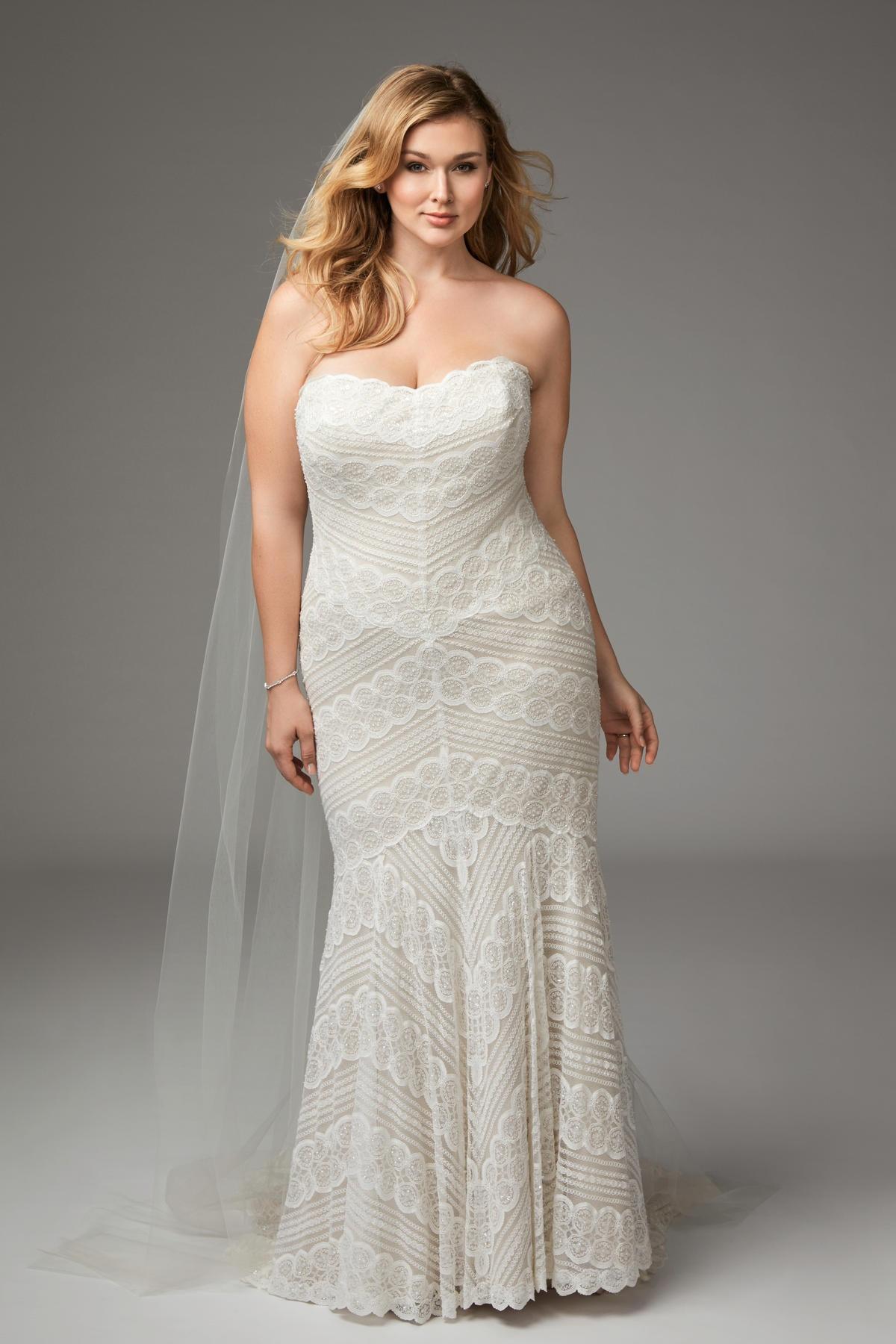 wedding dresses for plus size bride photo - 1