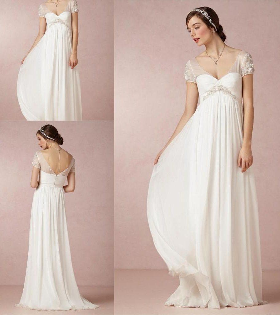 wedding dresses for pregnancy photo - 1