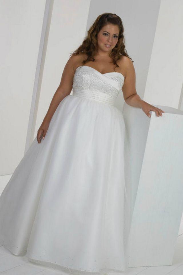 wedding dresses for pregnant brides photo - 1