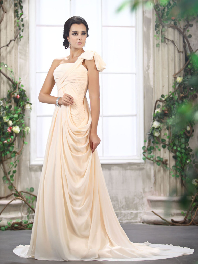 wedding dresses for second marriage over 50 photo - 1