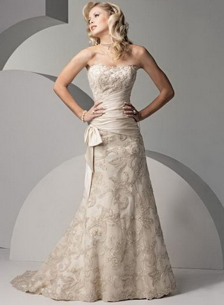 wedding dresses for second marriages photo - 1