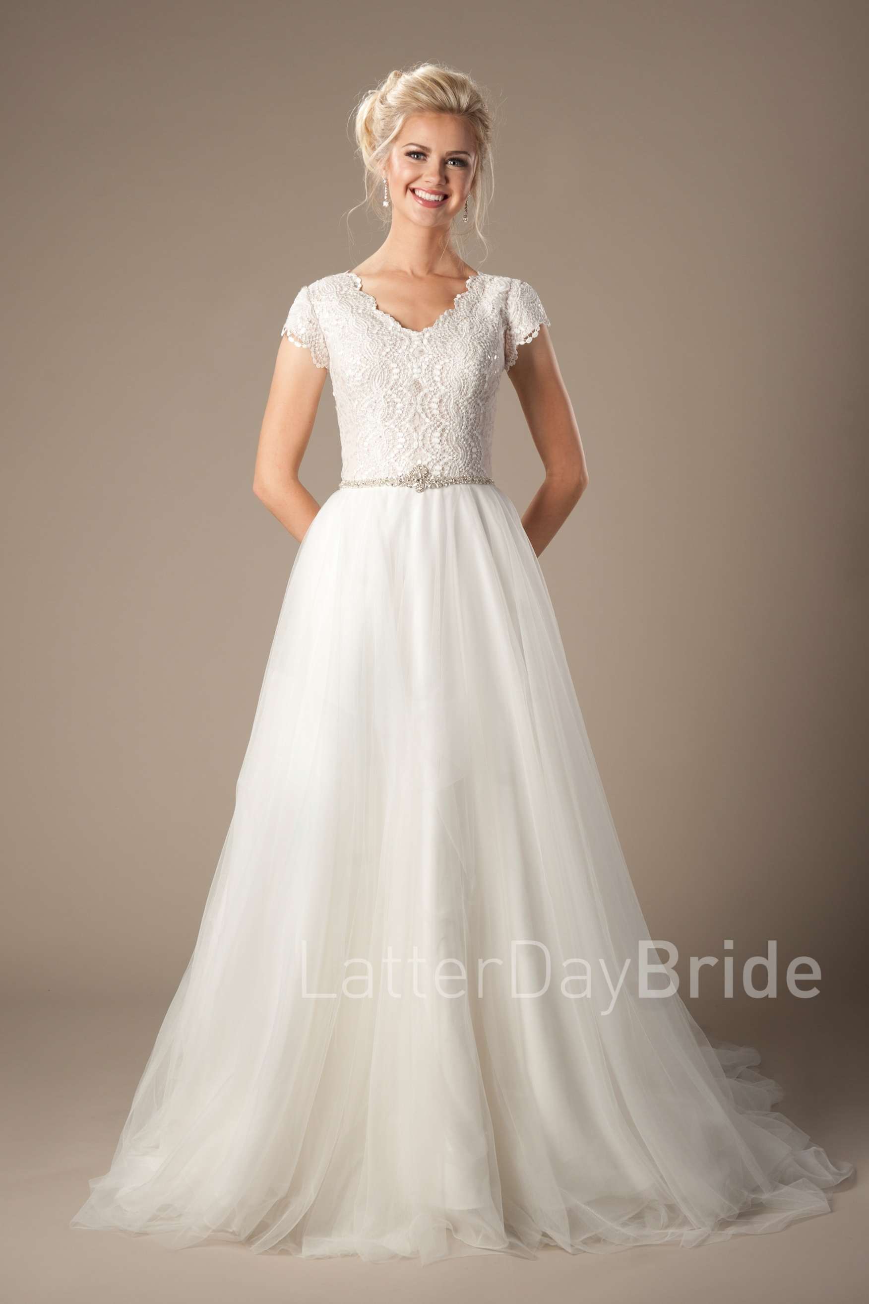 wedding dresses for tall brides photo - 1