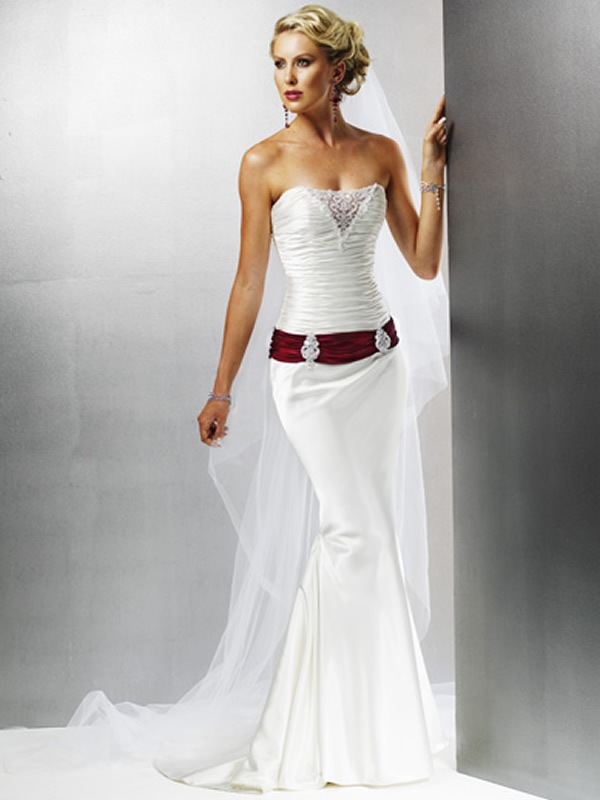 wedding dresses for third marriages photo - 1