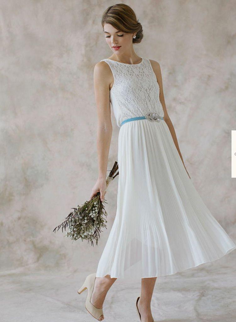 wedding dresses for women over 40 photo - 1